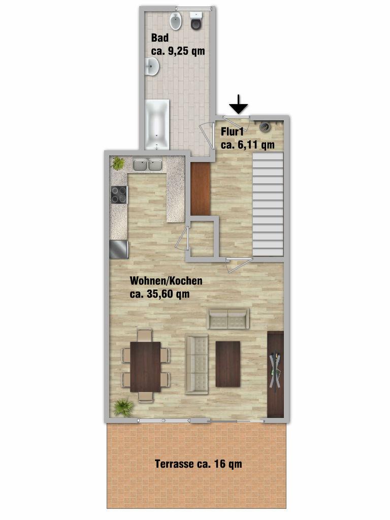 maisonettewohnung in troisdorf sieglar immobilien bonn. Black Bedroom Furniture Sets. Home Design Ideas