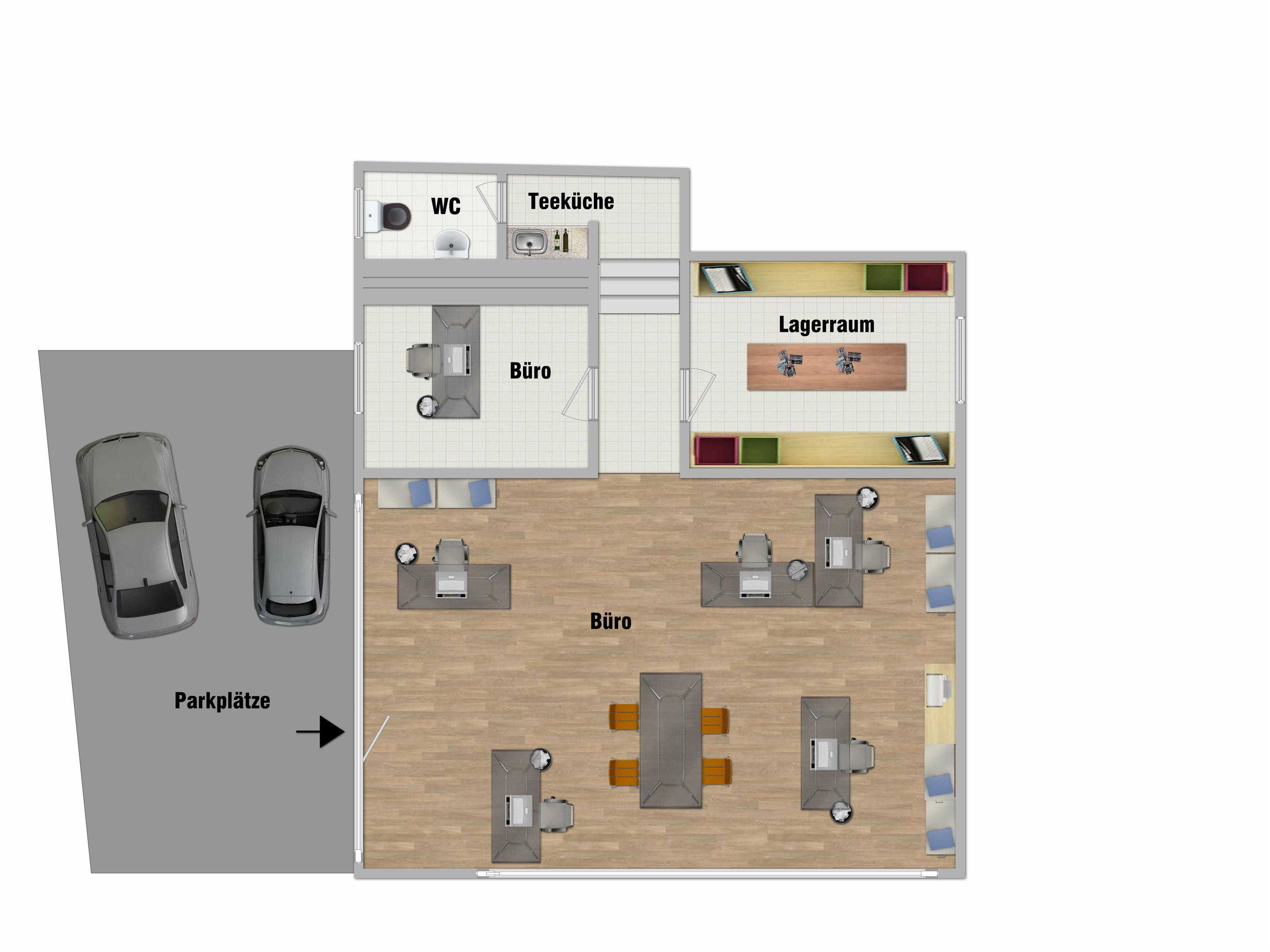 Neuer Firmensitz Beuel! Büro- oder Ladenfläche - Immobilien Bonn   {Teeküche büro grundriss 84}